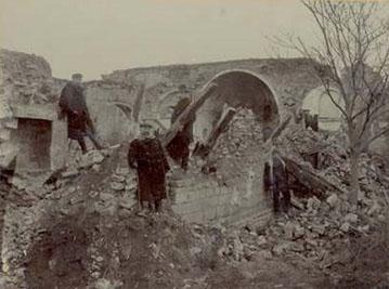 Виды развалин города шемахи